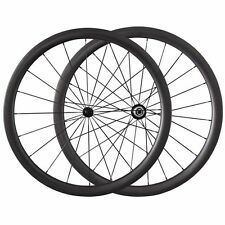 700C 38mm Clincher Road Bike Carbon Wheels Cycling Ultra Light Bicycle Wheelset