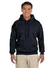 NEW Gildan Hoody Sweatshirt Men's 7.75 oz Heavy Blend 50/50 Pullover 18500