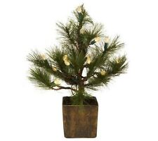 BethlehemLights BatteryOperated Charlie Pine Tree with Timer H167091