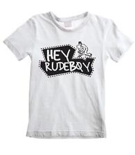 HEY RUDEBOY KIDS T-SHIRT - Ska The Specials Madness 2 Tone Mod Childrens Mods