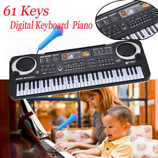 61Keys Digital Music Electronic Keyboard Key Board Gift Electric Piano Gift lot