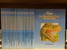 Disney's Wonderful World Of Knowledge - 23 Books Collection! (ID:35533)