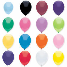 "Qualatex 12"" Standard Colours Latex Round Balloons 50 Pack"