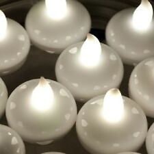 Floating LED Tea Lights White Fish Bowls Balloon Light for Wedding Party Decor