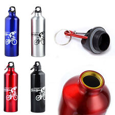Cycling Bike Bicycle Drink Water Bottle Kettle Aluminium Alloy Sport Goods 750ML