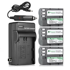 EN-EL3e 2200mAh Battery For Nikon D700 D300 D200 D90 D90s D80 D70S D50 + Charger