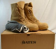 Bates Military Army Cold Weather DESERT TAN GORETEX BOOTS with Booties NIB