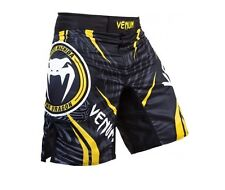 Venum Lyoto Machida Ryujin Fight Shorts (Black/Yellow)