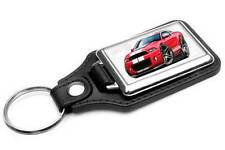 2010-14 Shelby GT500 Mustang Muscle Car-toon Key Chain Ring Fob NEW