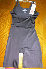 Assets Spanx Silhouette Serums Open-Bust Mid Thigh Body Shaper Sm Med NEW