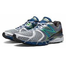 New Balance Men's 1260v3 Stability Running Shoes in Silver/Blue - M1260SB3
