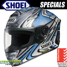 Shoei X-TWELVE X-12 Daijiro TC-6 Blue Helmet Motorcycle Race RRP $1099
