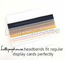 SKINNY SAMPLE 1 Piece- WHOLESALE elastic baby nylon headbands, one size fits all