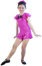 Dancewear-Stagewear-Lycra Culotte Unitard SWINGTIME Costume All Sizes & Colours