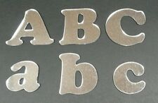 ACRYLIC MIRROR LETTERS 5cm SHATTERPROOF UPPER AND LOWER CASE CHOOSE ANY LETTERS