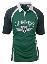 Guinness Grey and Green Performance Rugby Shirt Jersey