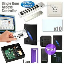 1 Door Access Controller Board RFID Network Set System + Magnetic Lock