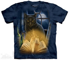 Bewitched Black Cat The Mountain Adult Size T-Shirt
