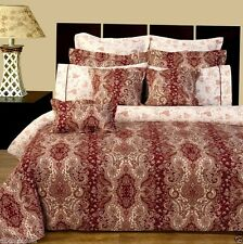 11pc Luxury Bed in a Bag Hampton Royalty Design with Duvet Cover & Pillow Shams