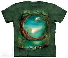Moon Tree The Mountain Adult Size T-Shirt