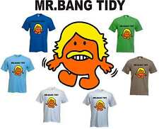 FUNNY MR BANG TIDY TV PERSONALITY KEITH LEMON T-SHIRT MENS SIZE S-3XL
