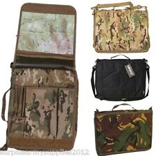 CAMOFLAUGE A4 FOLDER DOCUMENT HOLDER MTP MAP CASE FILE BRIEFCASE ORIENTEERING