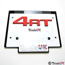 Trials UK Honda/Montesa 4RT Competition Number Board