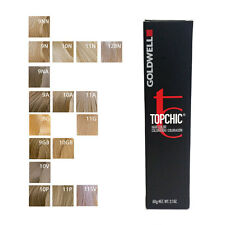 Goldwell Topchic Permanent Hair Color Tubes 2.1 oz - Light Color - Choose Color