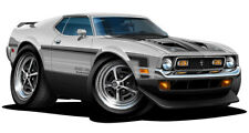 1971 Ford Mustang Boss 351 Muscle Car Art Print NEW