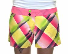 Roxy Fade Away Swimsuit Women XS-S pink sport beach boardshort BNWT