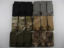 Condor MA58 MOLLE Triple Stack Magazine Pouch Mag Holder Velcro Flap A-TACS FG