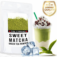 Sweet Matcha Green Tea Powder Frappe/Latte Mix High Quality