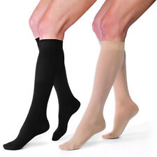 Jobst Relief Compression Knee Stockings 30-40 mmhg Supports Closed Toe Therapy