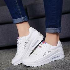 New Women's Fashion Athletics Breathable Casual Lace Up Running Sport Shoes Size
