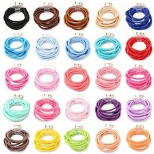 10x Brand New Hair Bands Elastic Ponytail Thick Hair Bobbles Hairbands