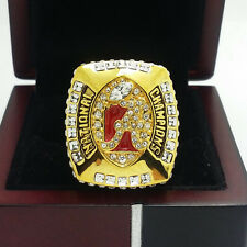 2011 Alabama Crimson Tide National Collegiate Football Championship Ring 11S+Box