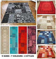 Renaissance Patchwork & Traditional Multiple Sizes Styles Colours Rugs & Runners