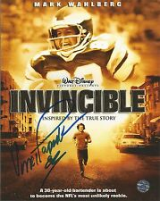 Vince Papale Philadelphia Eagles Autographed Signed Invincible Photo JSA PSA
