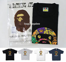 2016 A/W A BATHING APE Men's MILO DINOSAURS BABY MILO TEE 4colors New