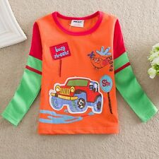 Boys Long Sleeved Top, Cotton, Sizes 2 - 6