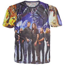 New Iron maiden 3D Men T-Shirt Killers Rock Metal Music Size S M L Polyester !!!