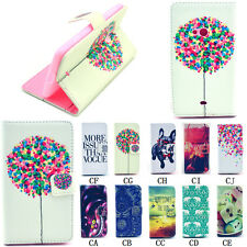Hybrid Leather Flip Wallet card stand Case Cover For For Nokia Lumia 625/N625