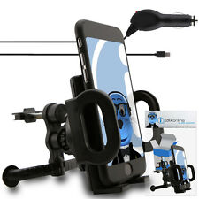 In Car Spring Mount Air Vent Holder & Car Charger For Samsung i9000 Galaxy S