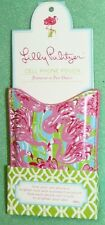 Lilly Pulitzer Cell Phone Iphone Pouch Fan Dance Flamingo New