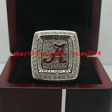 2015 2016 Alabama Crimson Tide SEC Football National Championship Ring 8-14Size
