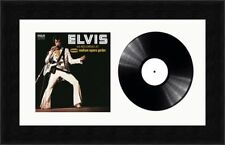 """Picture Photo Frame for Single 7"""" Vinyl LP Record with Album Cover   White Mount"""