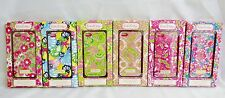 Lilly Pulitzer iPhone 5 cell phone case in bright color patterns shell elephant