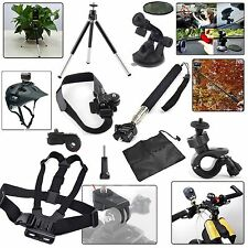 New HWKit Accessories Mount Kit for Sony Action Cam HDR AS15 AS20 AS30V AS100V