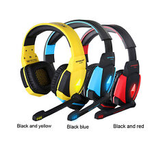 G4000 USB Stereo Gaming Headphone Headset with Microphone Volume Control for PC