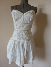 PORTMANS BEAUTIFUL WHITE Rockabilly BODICE  DRESS Evening/party/RRP: $99.99 NWT